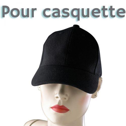 Pour casquettes