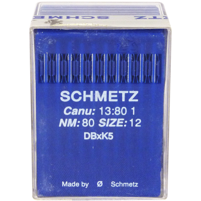 Aiguille Sharp Industrielle 80/12 DBxK5 Schmetz - Tête Ronde