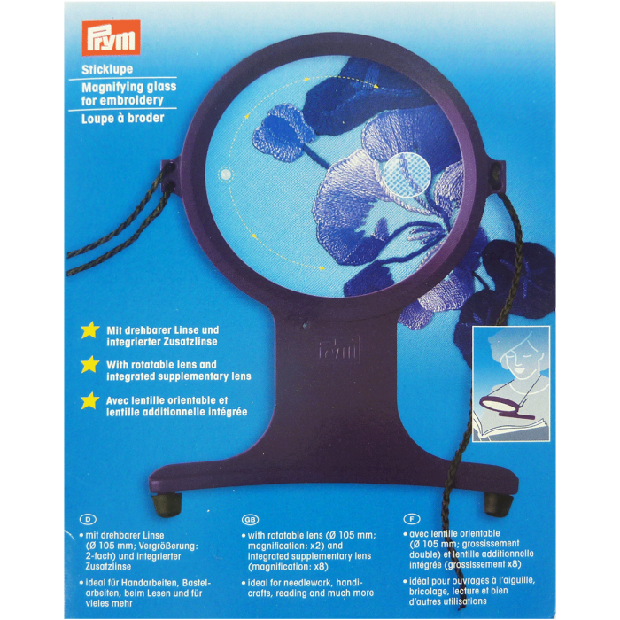 Loupe pour Broderie & Couture Prym