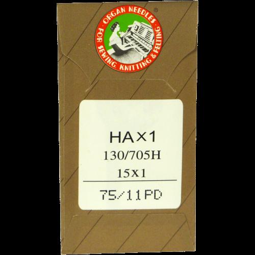 75/11 PD - Aiguille Organ Titanium - Pointu