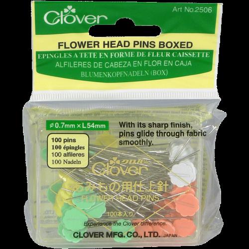 Épingles Fleur - Clover - Flower Head Pins