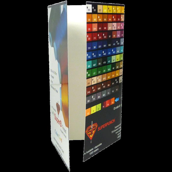 Charte de couleur SuperB Color Chart