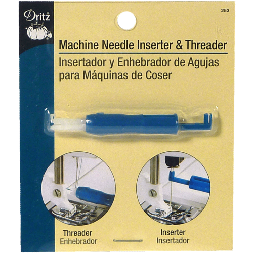 Introducteur d'Aiguille et Enfileur pour Machine à Coudre - Machine needle inserter & threader