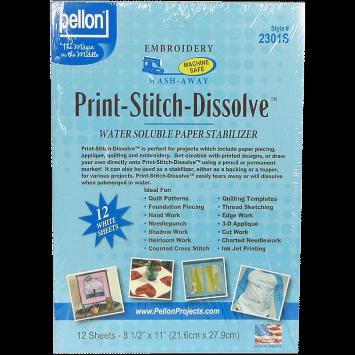 Print-Stitch-Dissolve- Dessin a imprimer