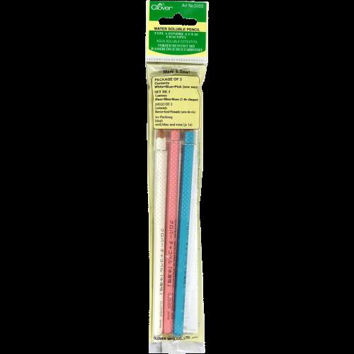 Water Soluble Pencil - Crayon soluble à l'eau
