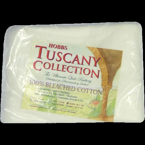 Cotton Batting - Bourrure de Coton 100% Coton Blanchis - Collection Tuscany