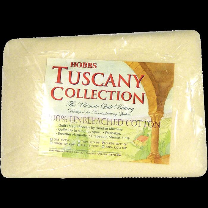 Cotton Batting - Bourrure de Coton 100% Coton Non-javallisé - Collection Tuscany