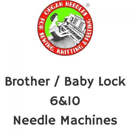Aiguilles de machines 6&10 Brother / Baby Lock