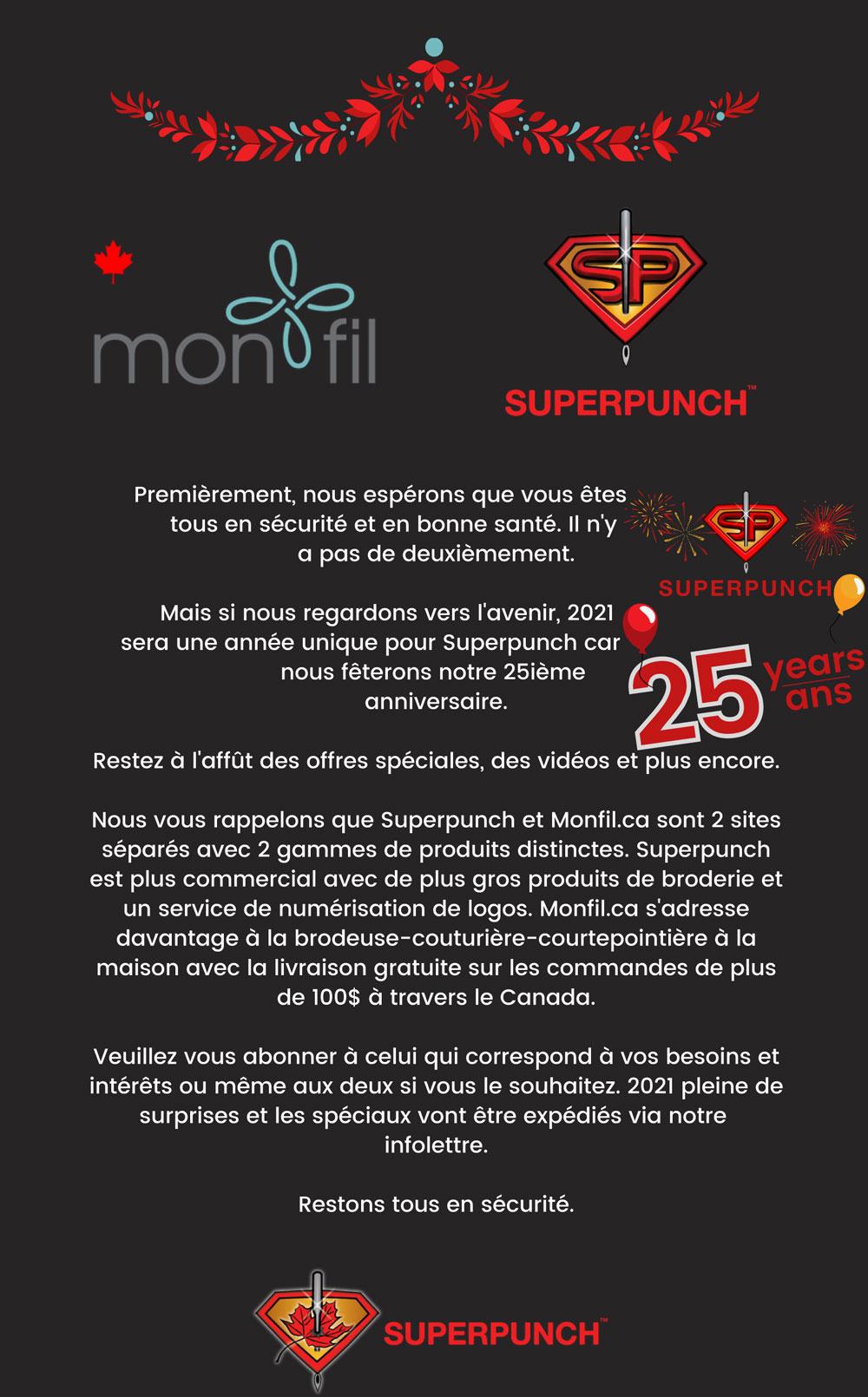 superpunch 25 ans
